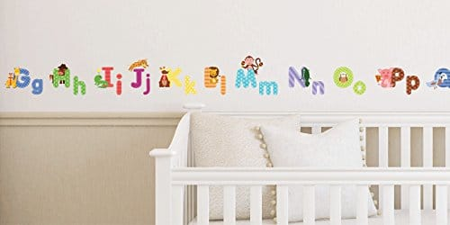 Charmant Animal Alphabet Wall Decals ...