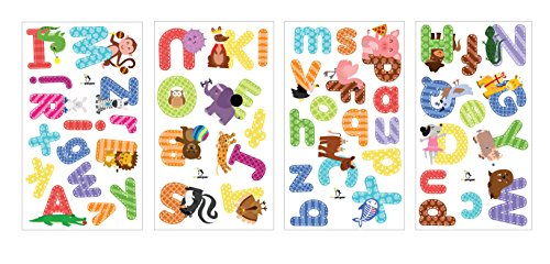 Animal Alphabet Wall Decals ...