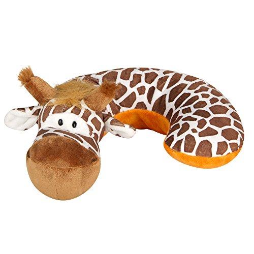 Animal Planet Kid\'s Neck Support Pillow, Giraffe, Brown, White ...
