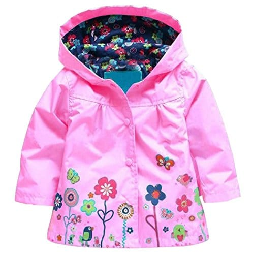 quality products new items many styles Arshiner Girl Baby Kid Waterproof Hooded Coat Jacket Outwear Raincoat  Hoodies