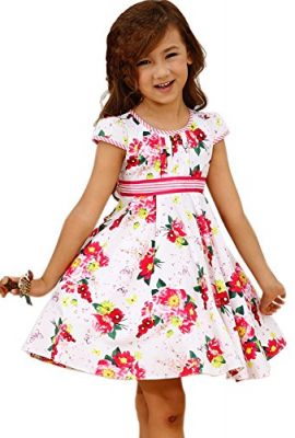 Bonny-Billy-Big-Girls-Cap-Sleeve-Printed-Woven-Cotton-Swing-Skirt-Dress-0