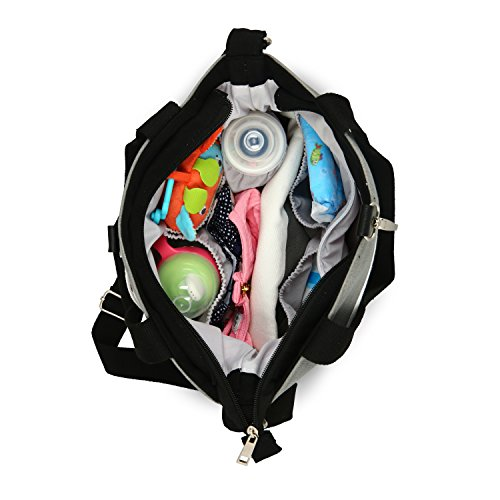 designer tote diaper bags u8o0  Compact Mommy Tote Bag