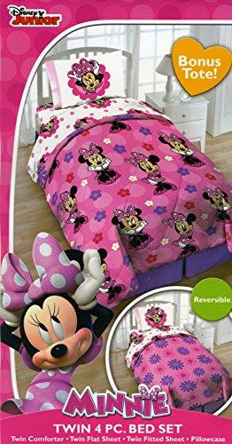 Disney Minnie Mouse Twin 4 Piece Bedding ...