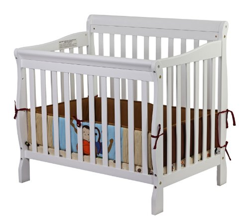 home convertible cribs product natural bedding crib on in wood mini piper dream garden me finish