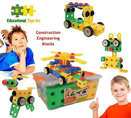 Imagination Toys For Boys : Eti toys stem learning original piece educational