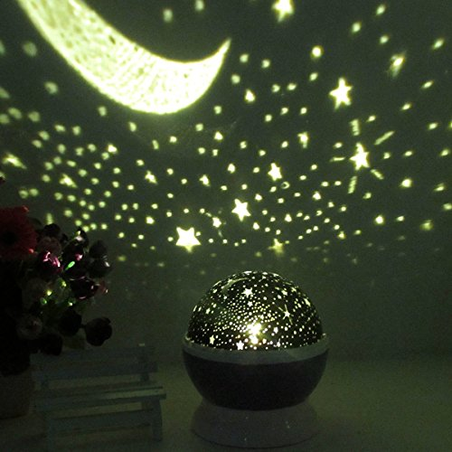 New improved essential choice constellation projector baby night light