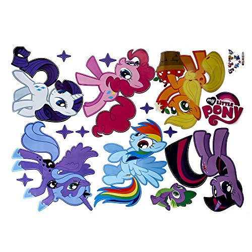 Facilla My Little Pony Kids Room Art Pvc Quote Wall Stickers Wall