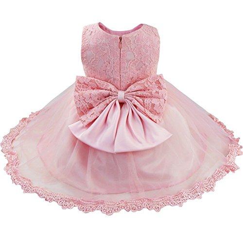 FEESHOW Baby Girl Lace Flower Princess Wedding Party Pageant Birthday Tutu Dress