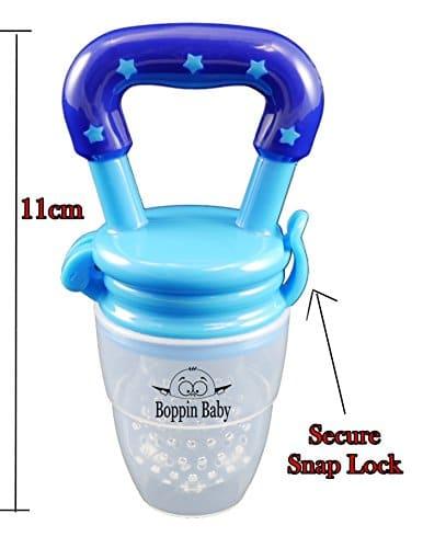 Boppin Baby Food Feeder Baby Fruit Feeder Teething Toy