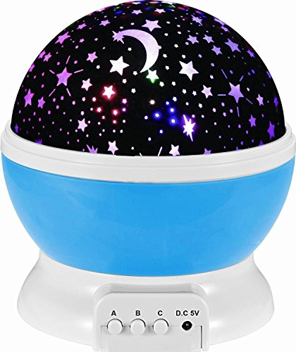 Hjian Led Night Light Projector Lamp 3 Models Light Kids