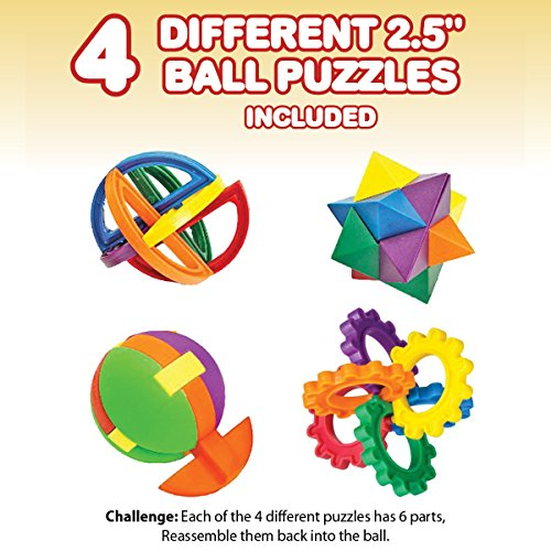 IQ Challenge Set by GamieUSA - 7 Pcs Kids Educational Toys for 5 Year Olds  - Highly Stimulating Brain Teasers - Challenging Mental Exercises for Sharp