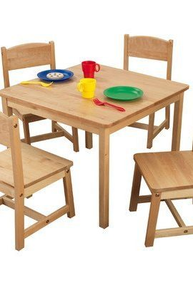 KidKraft-Farmhouse-Table-and-4-Chair-Set-0