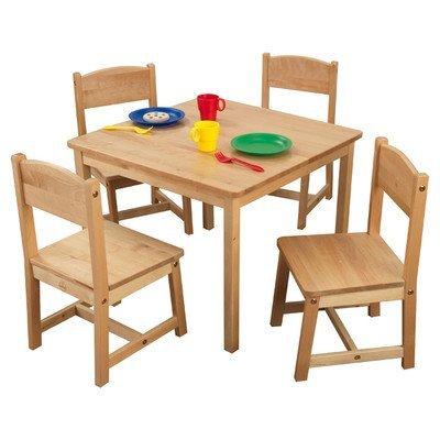 KidKraft Farmhouse Table and 4 Chair Set  sc 1 st  A Kids Boutique & KidKraft Farmhouse Table and 4 Chair Set - A Kids Boutique
