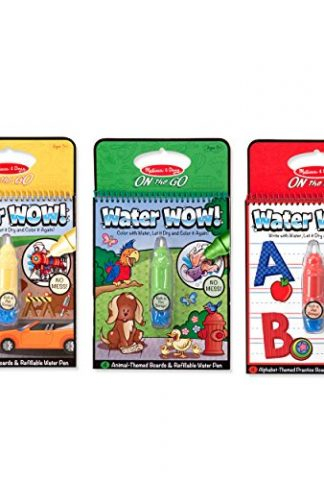Melissa Doug Water Wow Coloring Book Vehicles A Kids Boutique