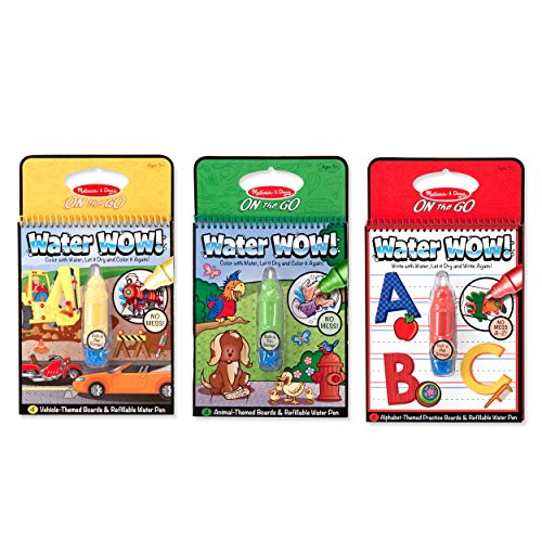 Melissa & Doug Water Wow Coloring Book - Vehicles - A Kids Boutique