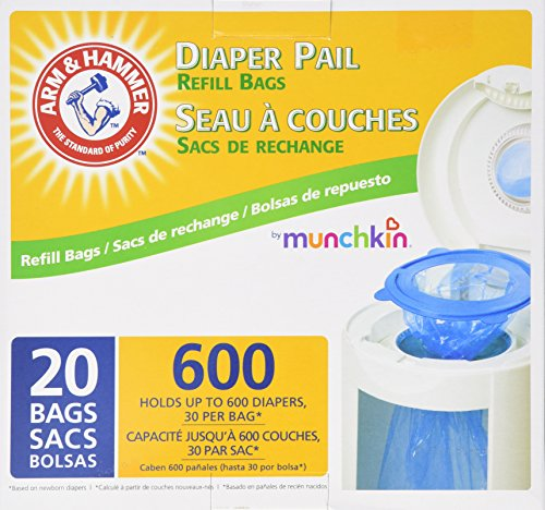 Munchkin Arm Amp Hammer Diaper Pail Snap Seal And Toss