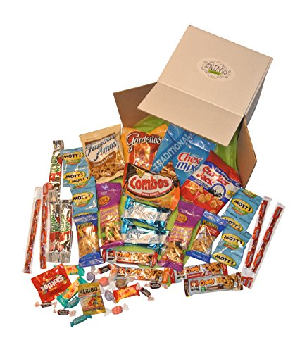 Snack Gift Basket Care Package With 26 Sweet And Salty Snacks Plus