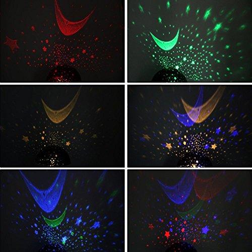 Sun And Star. Sun And Star Lighting Lamp 4 LED Bead 360 Degree Romantic Room