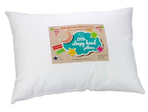 Little Sleepy Head Toddler Pillow, White, 13 X 18 - A Kids ...