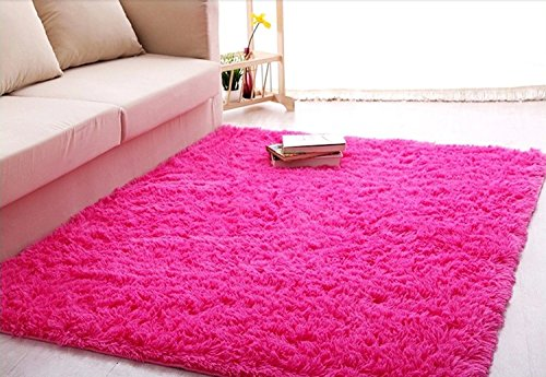 Ultra Soft 4.5 Cm Thick Indoor Morden Shaggy Area Rugs Pads, New ...