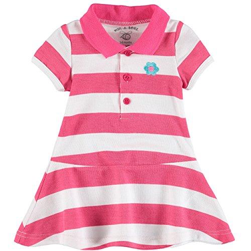 Wan A Beez Baby Girls Pique Polo Dress Set A Kids Boutique