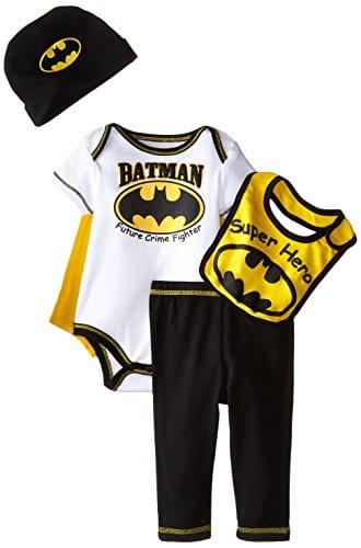 Warner Brothers Baby Baby Boys Newborn Batman 5 Piece Gift Box Set ...