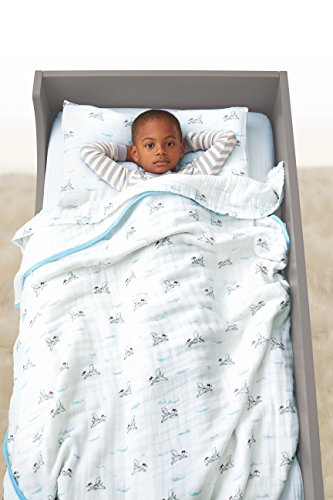 aden anais classic toddler bed in a bag liam the brave kids bedding sets toddler bedding. Black Bedroom Furniture Sets. Home Design Ideas