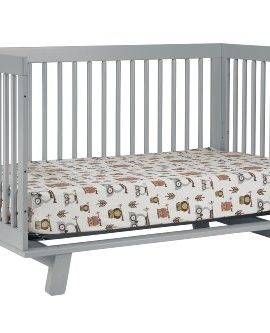 babyletto hudson 3in1 convertible crib with toddler rail
